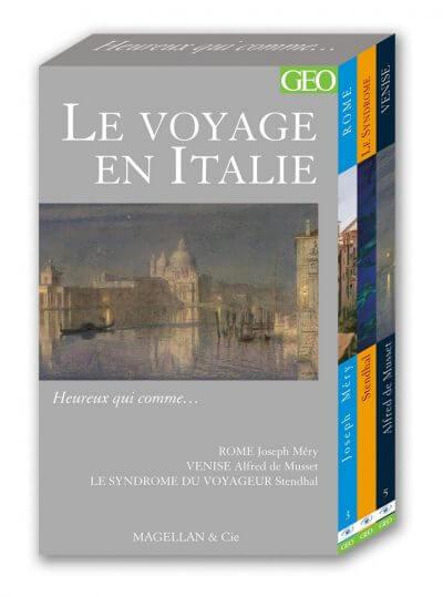 Le Voyage En Italie - Couverture Livre - Collection Heureux qui comme... - Éditions Magellan & Cie