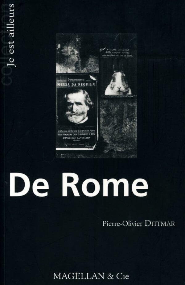 De Rome - Couverture Livre - Collection Je est ailleurs - Éditions Magellan & Cie