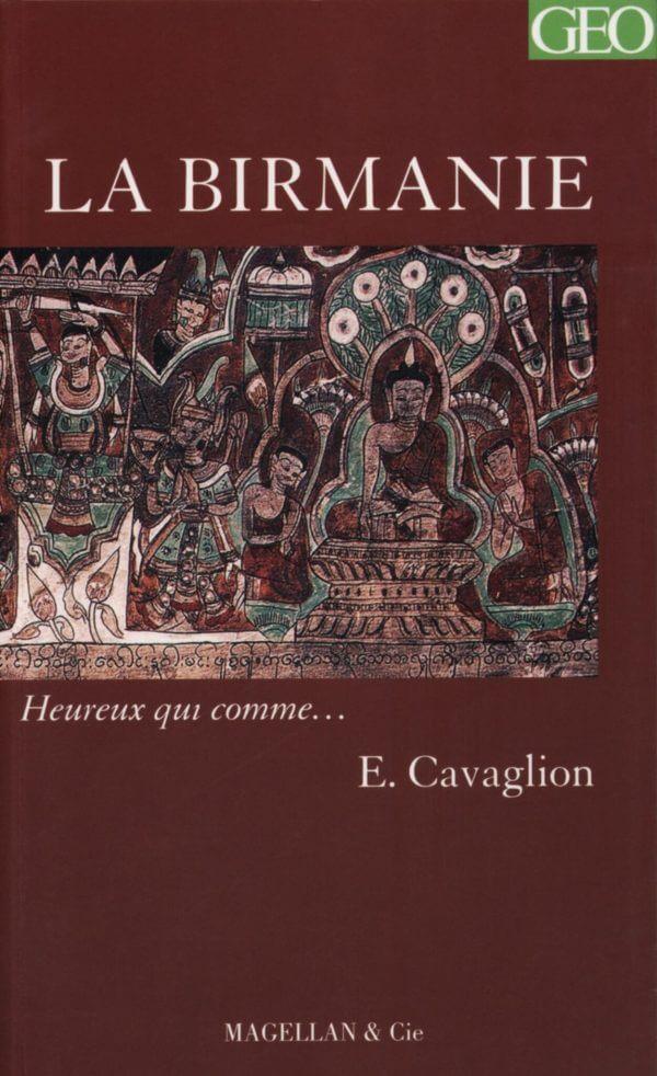 Birmanie - Couverture Livre - Collection Heureux qui comme... - Éditions Magellan & Cie