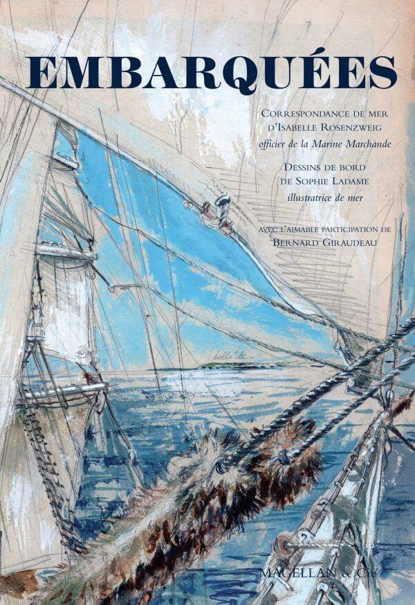 Embarquées - Couverture Livre - Collection Coups de crayon - Éditions Magellan & Cie