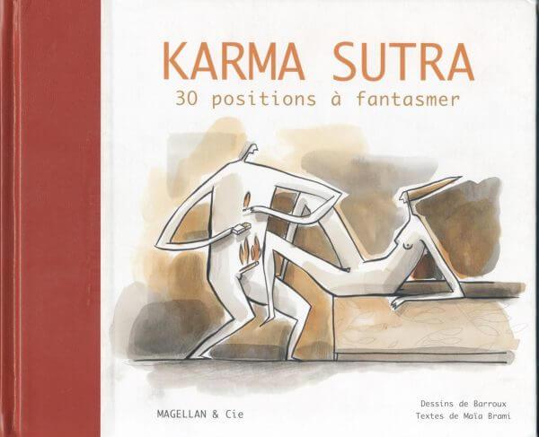 Karma Sutra, 30 Positions À Fantasmer - Couverture Livre - Collection Coups de crayon - Éditions Magellan & Cie