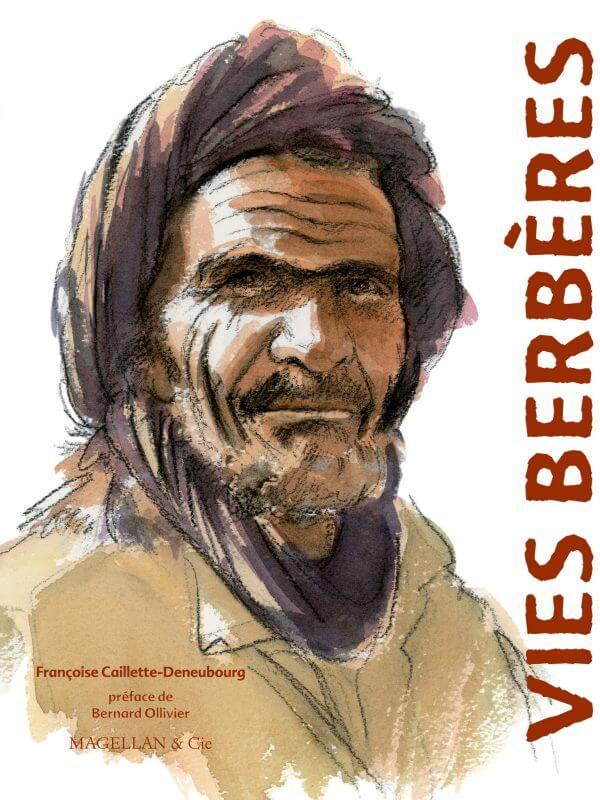 Vies Berbères - Couverture Livre - Collection Coups de crayon - Éditions Magellan & Cie