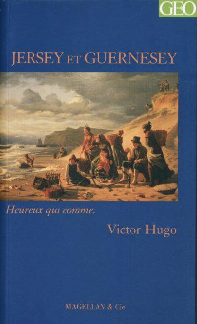 Jersey Et Guernesey - Couverture Livre - Collection Heureux qui comme... - Éditions Magellan & Cie