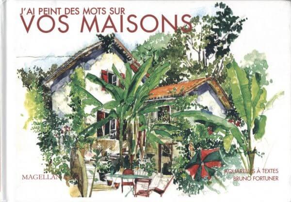 Vos Maisons - Couverture Livre - Collection Coups de crayon - Éditions Magellan & Cie