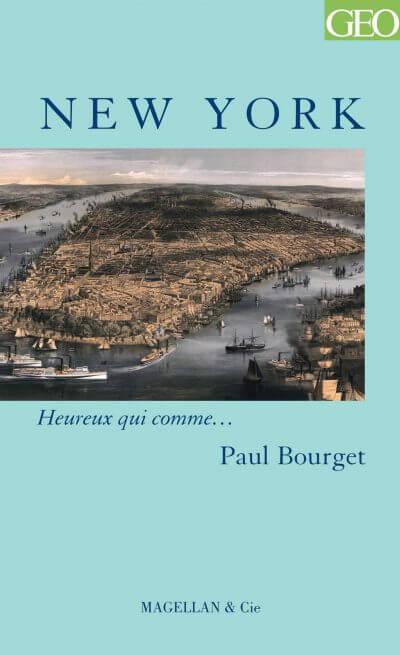 New York - Couverture Livre - Collection Heureux qui comme... - Éditions Magellan & Cie