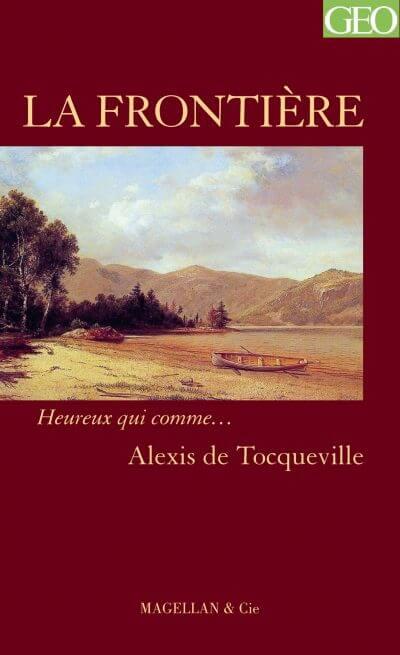 La Frontière - Couverture Livre - Collection Heureux qui comme... - Éditions Magellan & Cie