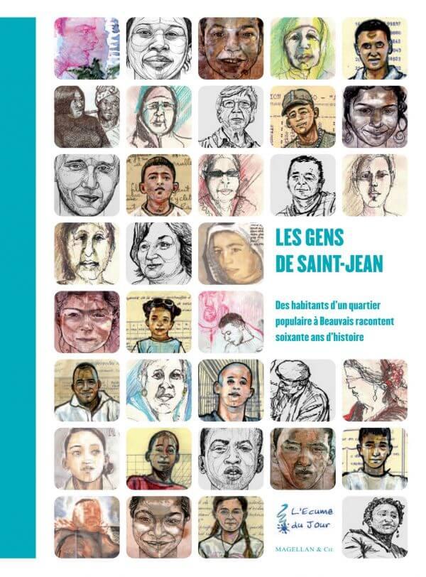 Les Gens De Saint-Jean - Couverture Livre - Collection Coups de crayon - Éditions Magellan & Cie