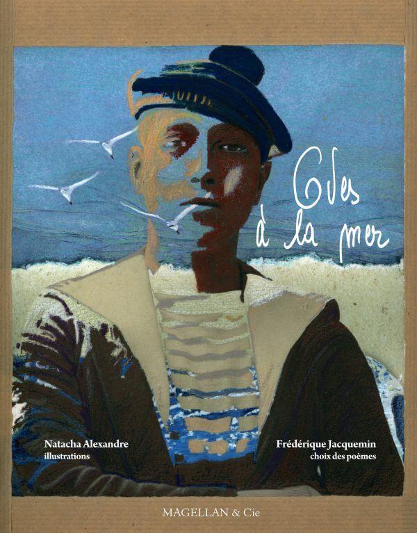 Odes À La Mer - Couverture Livre - Collection Coups de crayon - Éditions Magellan & Cie