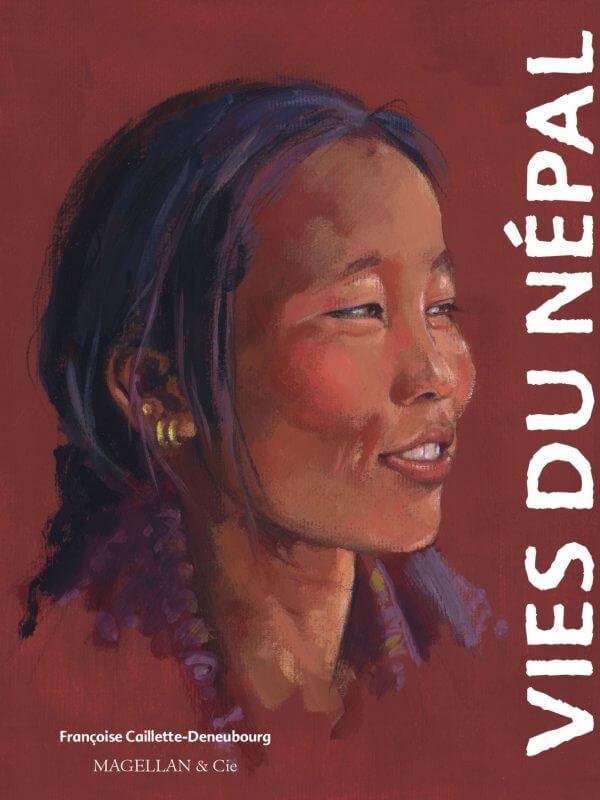 Vies du Népal - Couverture Livre - Collection Coups de crayon - Éditions Magellan & Cie