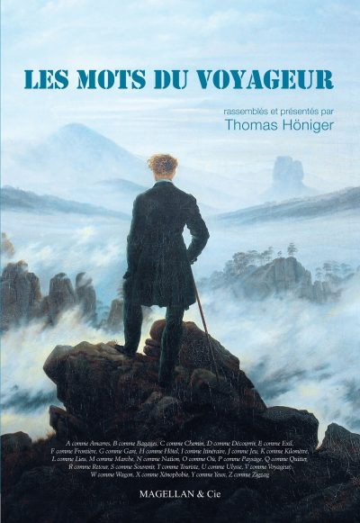 Les Mots du Voyageur - Couverture Livre - Collection Les Ancres contemporaines - Éditions Magellan & Cie