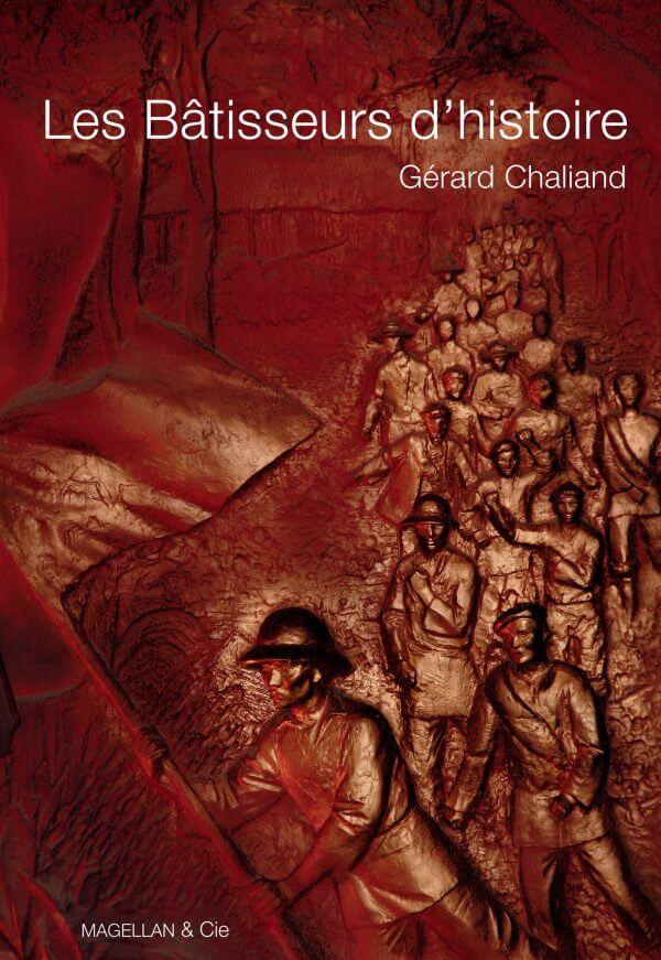 Les Bâtisseurs D'histoire - Couverture Livre - Collection Les Ancres contemporaines - Éditions Magellan & Cie