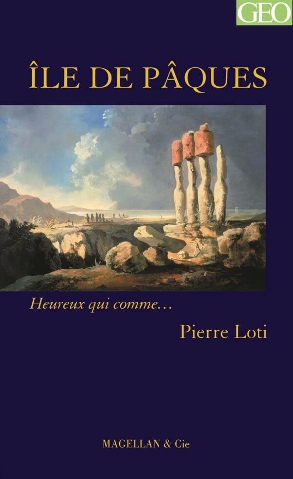 Ile De Pâques - Couverture Livre - Collection Heureux qui comme... - Éditions Magellan & Cie