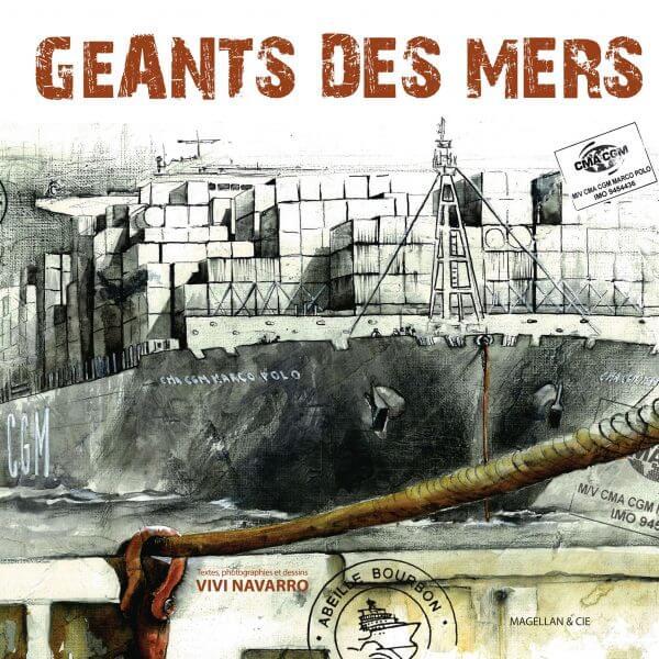 Géants Des Mers - Couverture Livre - Collection Coups de crayon - Éditions Magellan & Cie