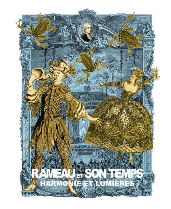 Rameau Et Son Temps, Harmonie Et Lumières - Couverture Livre - Collection Mémoires d'institutions - Éditions Magellan & Cie