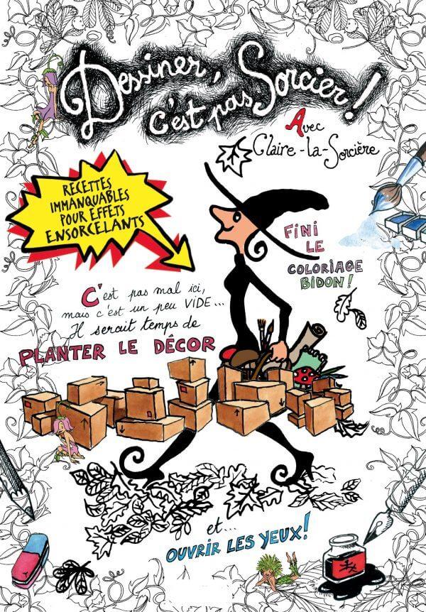 Dessiner, C'est Pas Sorcier - Couverture Livre - Collection Jeunesse > Albums, Les P'tits Magellan: à partir de 3 ans - Éditions Magellan & Cie
