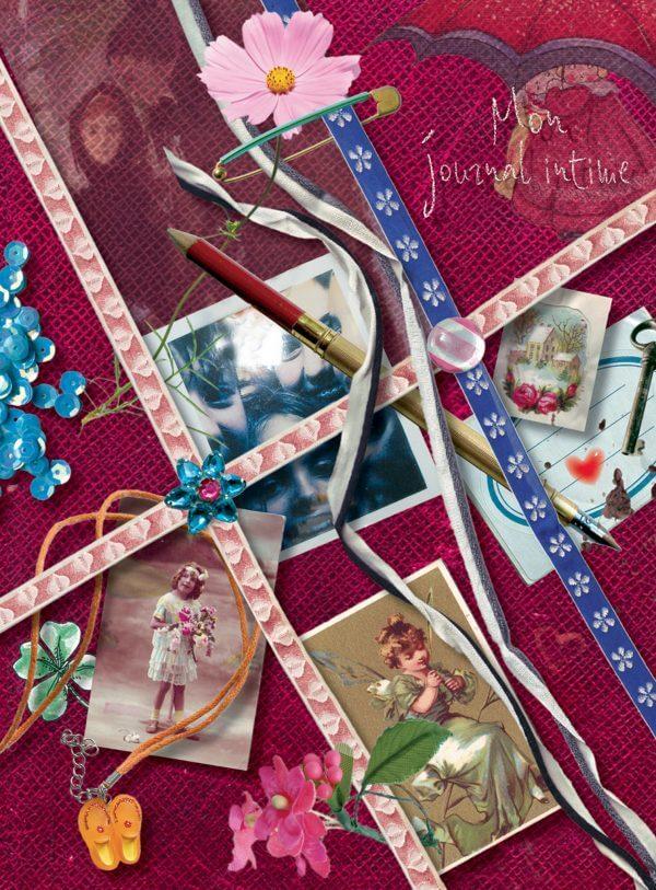 Mon Journal Intime - Couverture Livre - Collection Jeunesse > Albums, Les P'tits Magellan: à partir de 3 ans - Éditions Magellan & Cie