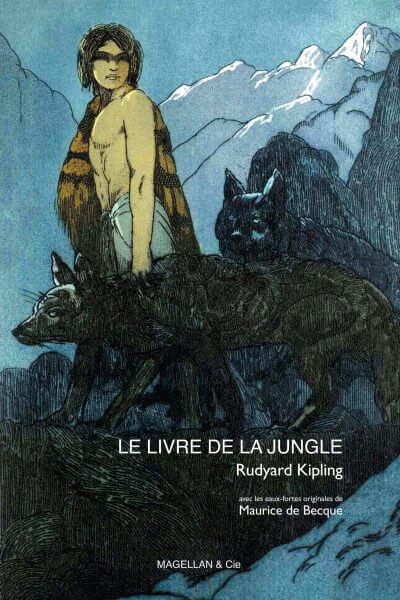 Le Livre De La Jungle - Couverture Livre - Collection Jeunesse > Albums, Les P'tits Magellan: à partir de 3 ans - Éditions Magellan & Cie