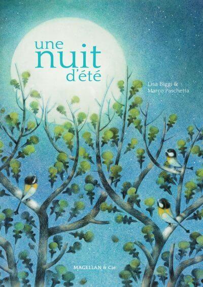 Une Nuit D'été - Couverture Livre - Collection Jeunesse > Albums, Les P'tits Magellan: à partir de 3 ans - Éditions Magellan & Cie
