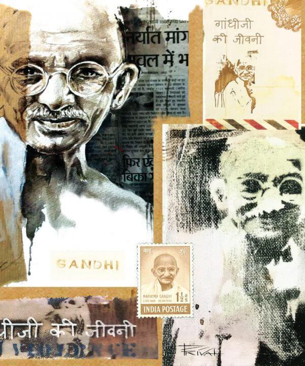 Mémentos - Gandhi - Couverture Livre - Collection Mémentos - Éditions Magellan & Cie