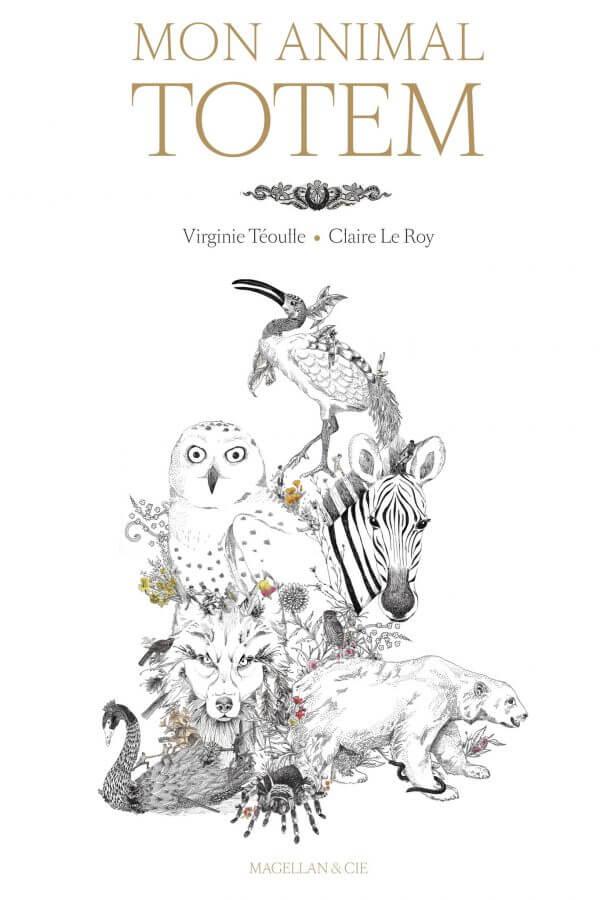 Mon Animal Totem - Couverture Livre - Collection Jeunesse > Albums, Les P'tits Magellan: à partir de 3 ans - Éditions Magellan & Cie