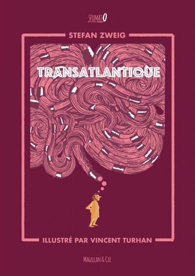 Transatlantique - Couverture Livre - Collection Sfumato - Éditions Magellan & Cie