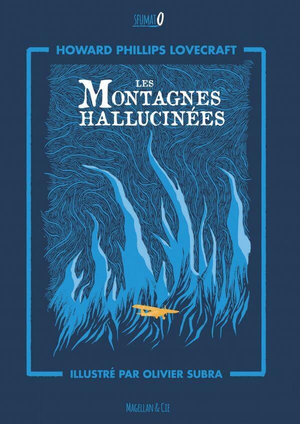 Les Montagnes Hallucinées - Couverture Livre - Collection Sfumato - Éditions Magellan & Cie