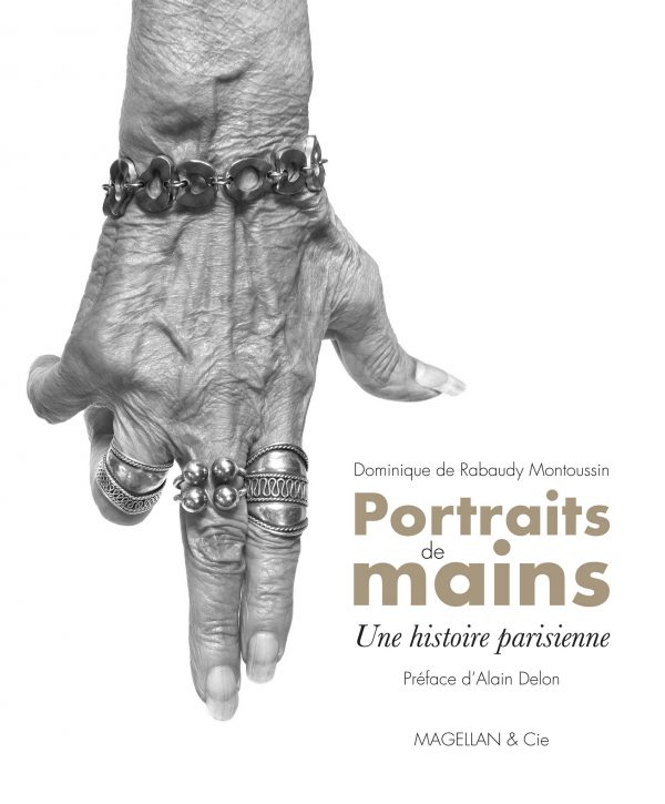 Portraits De Mains, Une Histoire Parisienne - Couverture Livre - Collection Merveilles du monde - Éditions Magellan & Cie