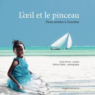 L'œil Et Le Pinceau - Couverture Livre - Collection Coups de crayon - Éditions Magellan & Cie