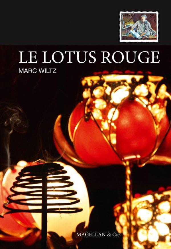 Le Lotus Rouge - Couverture Livre - Collection Les Ancres contemporaines - Éditions Magellan & Cie