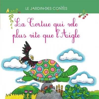 La Tortue qui vole plus haut que l'Aigle - Couverture Livre - Collection Jeunesse > Albums de contes - Éditions Magellan & Cie