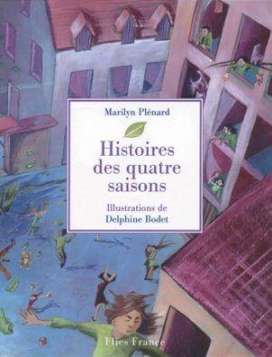 Histoires des quatre saisons - Couverture Livre - Collection Jeunesse > La caravane des contes - Éditions Magellan & Cie