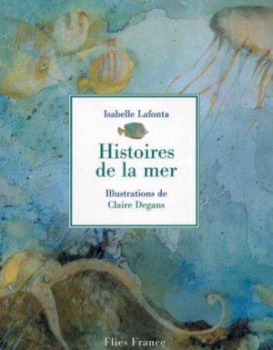 Histoires de la mer - Couverture Livre - Collection Jeunesse > La caravane des contes - Éditions Magellan & Cie