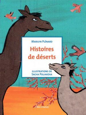 Histoires de déserts - Couverture Livre - Collection Jeunesse > La caravane des contes - Éditions Magellan & Cie