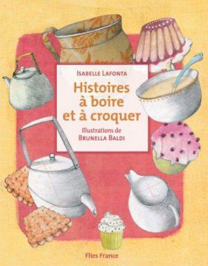 Histoires à boire et à croquer - Couverture Livre - Collection Jeunesse > La caravane des contes - Éditions Magellan & Cie