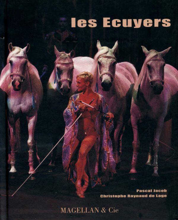 Les Écuyers - Couverture Livre - Collection Spectacles vivants - Éditions Magellan & Cie