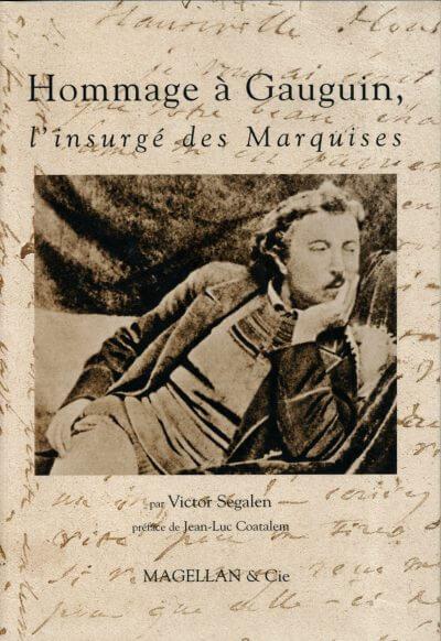 Hommage À Gauguin, L'insurgé Des Marquises - Couverture Livre - Collection Traces et fragments - Éditions Magellan & Cie