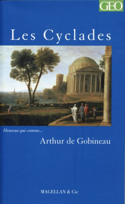 Les Cyclades - Couverture Livre - Collection Heureux qui comme... - Éditions Magellan & Cie
