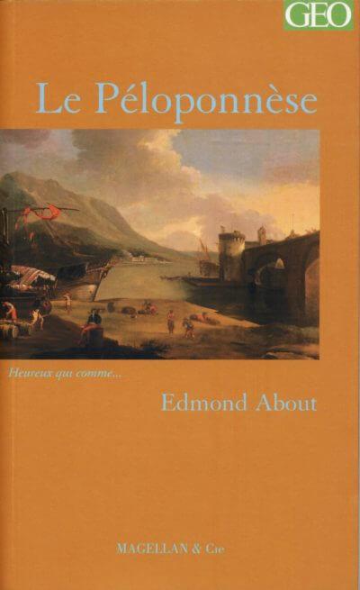 Le Pélopponèse - Couverture Livre - Collection Heureux qui comme... - Éditions Magellan & Cie