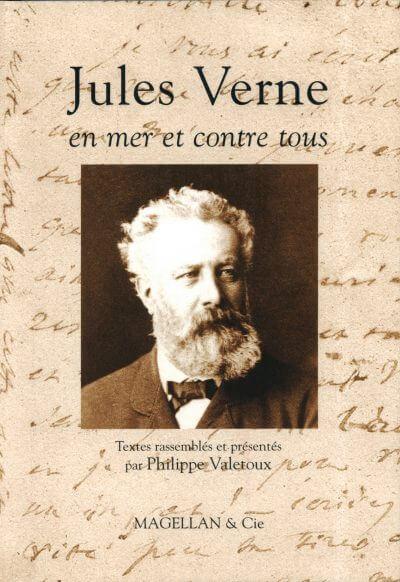 Jules Verne, En Mer Et Contre Tous - Couverture Livre - Collection Traces et fragments - Éditions Magellan & Cie