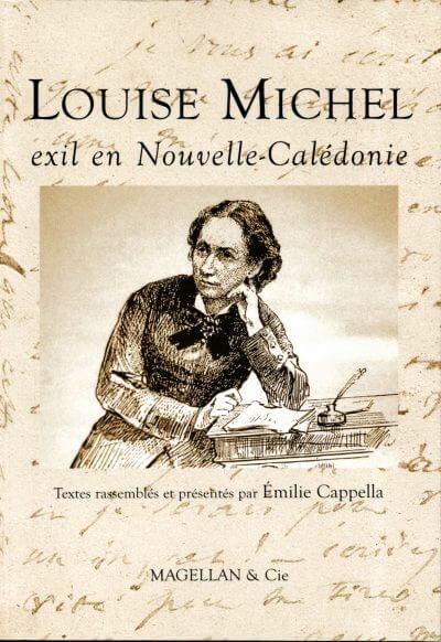 Louise Michel, Exil En Nouvelle-Calédonie - Couverture Livre - Collection Traces et fragments - Éditions Magellan & Cie