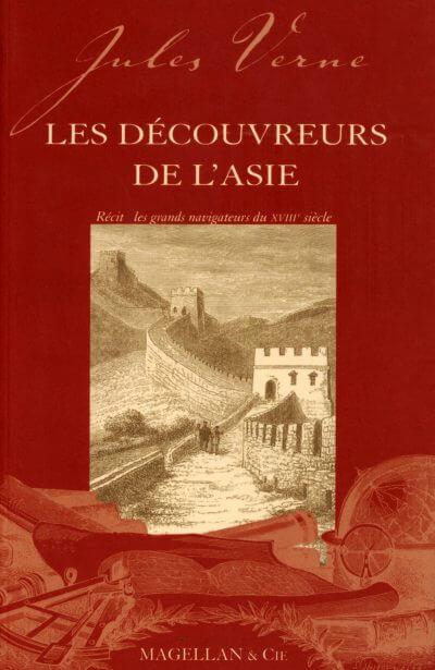 Les Découvreurs De L'asie - Couverture Livre - Collection Les Explorateurs - Éditions Magellan & Cie